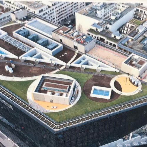 Berlin, Axel Springer Neubau,PolyRoof